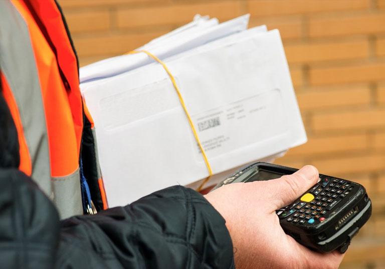 курьерская доставка почты